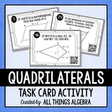 Quadrilaterals Task Cards