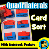 Quadrilaterals Card Sort
