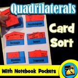 Quadrilaterals Card Sort