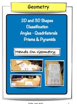 Quadrilaterals - Common Core - Grades 4 & 5