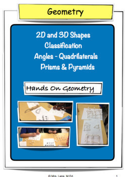 Quadrilaterals - Common Core - Grades 4 & 5
