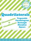 Quadrilaterals Doodle Notes