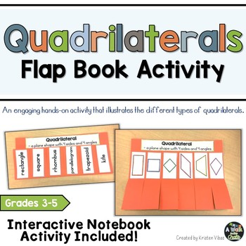 Quadrilaterals Flap Book and Interactive Notebook Activity