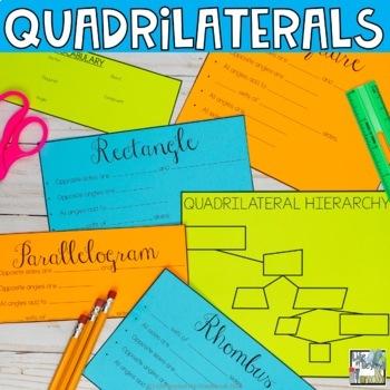 Quadrilaterals Flip Book