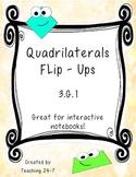 Quadrilaterals Flip-Ups