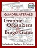 Quadrilaterals - Graphic Organizers