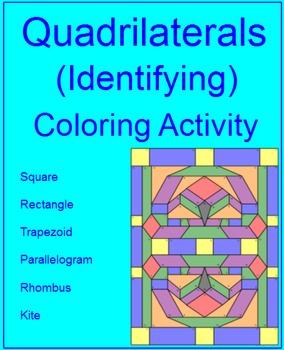 Quadrilaterals - Identifying Types of Quadrilaterals - Col