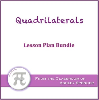 Quadrilaterals Lesson Plan Bundle