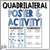 Quadrilaterals Poster and Activity!
