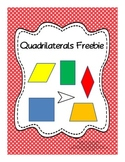 Quadrilaterals - Poster, Chart