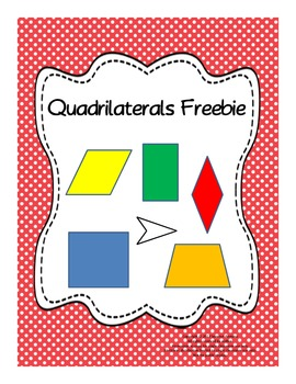 Quadrilaterals - Poster, Chart