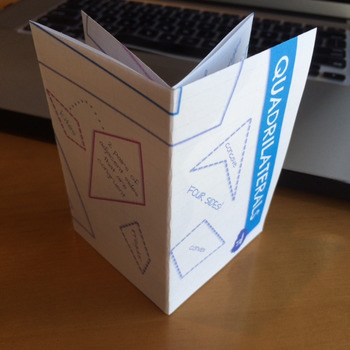 Quadrilaterals Poster and Poof Book Foldable