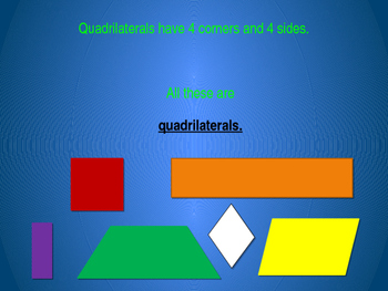 Quadrilaterals Power Point