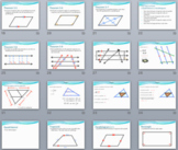 Quadrilaterals Geometry Unit PPT/Notes/Practice (goes w/ J