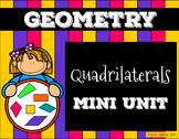 Quadrilaterals Presentation Assessment/Vocabulary Pack