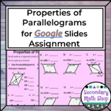 Quadrilaterals -  Properties of Parallelograms Google Driv