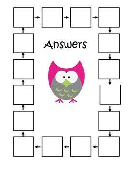 Quadrilaterals QR Code Scavenger Hunt -4.G.2 Fourth Grade Common Core Math