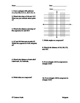 Quadrilaterals - Square, Trapezoid, Kite and Paralleogram