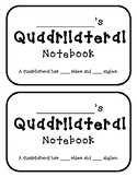 Quadrilaterals Student Notebook