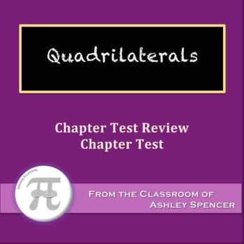 quadrilaterals test teaching resources teachers pay teachers