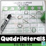 Quadrilaterals Tic-Tac-Toe Game