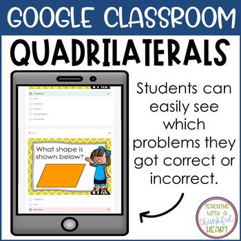 Quadrilaterals l Google Forms l Google Classroom