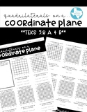 Quadrilaterals on a Coordinate Plane (TEKS 5.8A & B)