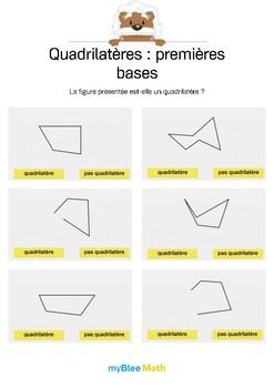 Quadrilatères 1 -Quadrilatère ou non ?
