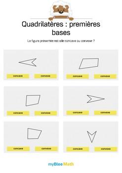 Quadrilatères 2 -Concave ou convexe ?