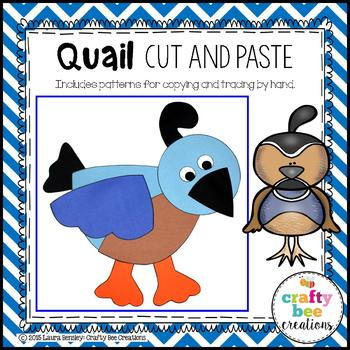 Quail Cut and Paste
