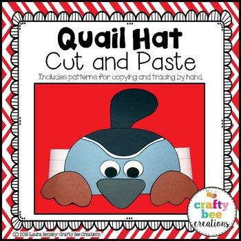 Quail Hat Cut and Paste