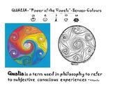 "Qualia - ""Power of the Vowels"" - Senses - Colours -a Perso"