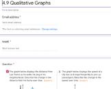 Qualitative Graphs Google Forms