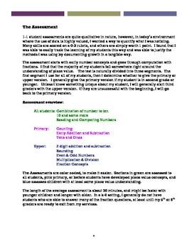 Qualitative & Quantitative Developmental Math Assessment & Intervention Protocol