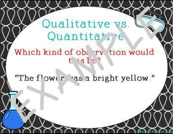 Qualitative Vs. Quantitative Presentation - Science Skills