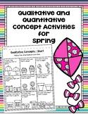 Qualitative and Quantitative Concept Activities for Spring