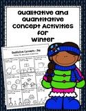 Qualitative and Quantitative Concept Activities for Winter