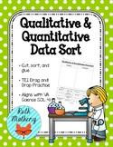 Qualitative and Quantitative Data Sort - VA Science SOL 4.1