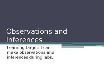 Qualitative and Quantitative Observations