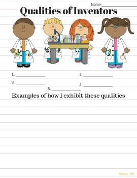 Qualities of Inventors