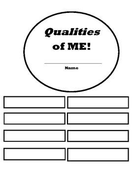 Qualities of Me SUN