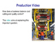 Quality & Production - Total Quality Management & Quality