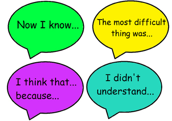 Quality Thinking and Speaking Stems