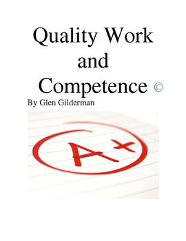 Quality Work and Competence Lesson