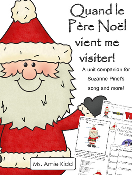 Quand le Pere Noel - Primary French Activities for Suzanne