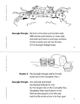 Quangle Wangle Quee (Leveled Readers' Theater, Grade 3)