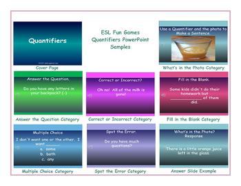 Quantifiers PowerPoint Presentation