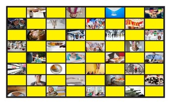 Quantifiers Spanish Legal Size Photo Checkers Game