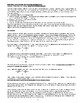 Quantitative Chemistry Using Unit Analysis (32 pages with Answer sets)