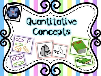 Quantitative Concepts